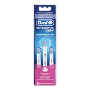 Oral-B Power Sensitive Replacement Electric Toothbrush Head,3 Count