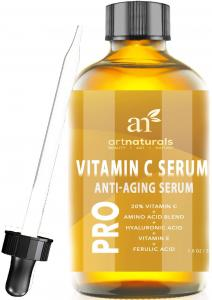 ArtNaturals Enhanced Vitamin C Serum with Hyaluronic Acid 1 Oz