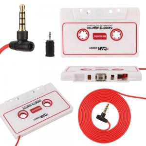 BESDATA Car Cassette Adapters for iPod, iPad, iPhone, MP3, Mobil Device