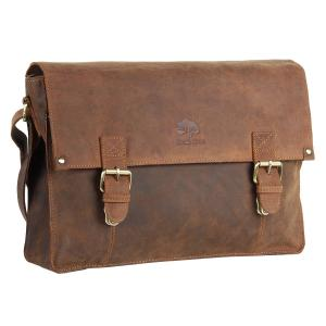 Messenger Bag Leather Laptop Bag for Men Gift Ideas
