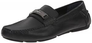 Calvin Klein Men's Mchale Leather Loafer