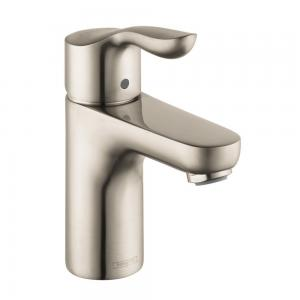 Hansgrohe 04167820 Solaris E Single-Hole Faucet, Brushed Nickel