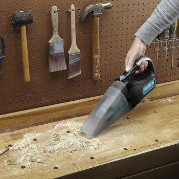 Black & Decker CWV1408 Dust Buster Wet/Dry Hand Vacuum, 14.4-volt
