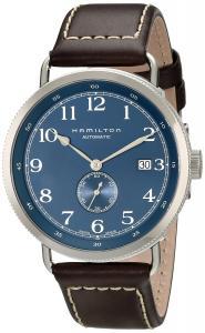 Hamilton Men's HML-H78455543 Khaki Analog Display Swiss Automatic Brown Watch
