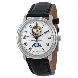 Frederique Constant Classics Moonphase Silver Dial Mens Watch FC-335MC4P6