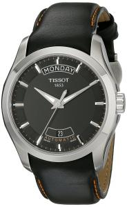 Tissot Men's T0354071605101 T-Trend Couturier Black Day Date Dial Watch