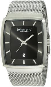 Đồng hồ nam Johan Eric Men's JE1001-04-001.9 Tondor Tonneau Mesh Stainless Steel Watch