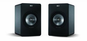 KEF X300A Wireless Digital Hi-Fi Speaker System - Gunmetal Grey (Pair)