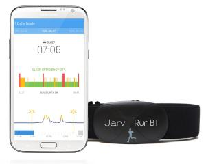 Jarv Premium Bluetooth® 4.0 Smart Heart Rate Monitor for Samsung Galaxy S6, S5, S4 Note 4, 3, Edge, Nexus 6, 5 LG G3, G4, HTC One M8, M9 Motorola Droid Turbo and Other Android Devices Using Os 4.3 or Later