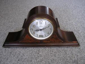 Đồng hồ ANTIQUE VINTAGE SESSIONS WESTMINSTER CHIME ELECTRIC MANTLE CLOCK NO.. 27