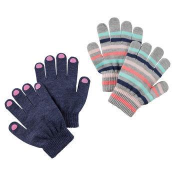 Găng tay 2-Pack Striped Gripper Gloves