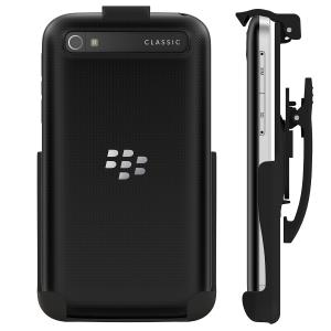 Seidio Spring-Clip Holster for Non-Cased BlackBerry Classic - Retail Packaging - Black