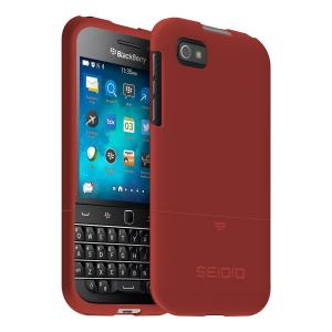 Seidio SURFACE Case for use with BlackBerry Classic   Retail Packaging - Garnet Red