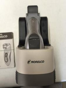 NORELCO 7800XLCC RECHARGEABLE TRIPLEHEADER CORDLESS RAZOR