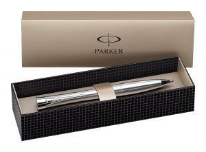 Parker Urban Silver CT Retractable Ballpoint Gel Pen, Black Gel Ink, Medium Point (1750471)