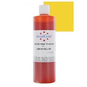 Americolor Soft Gel Paste Food Color, 13.5-Ounce, Lemon Yellow