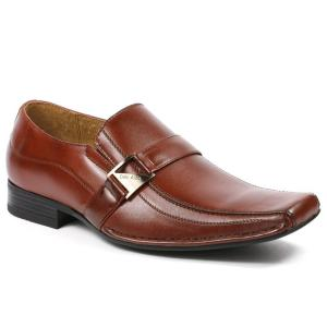 Delli Aldo M-19231 Brown Mens Loafers Dress Classic Shoes w/ Leather Lining