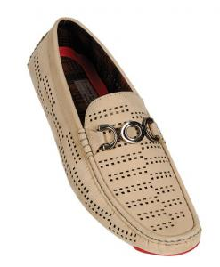Arider BRUCE-04 Men's Perforated Buckle Low Top Breathable Loafer Shoes