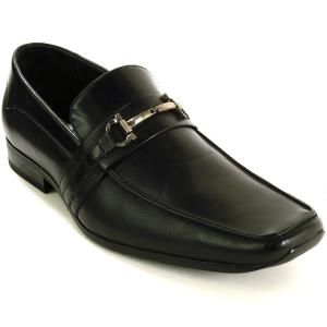 Alpine Swiss Stelvio Mens Suede Lined Dress Shoes Slip on Buckle Loafer