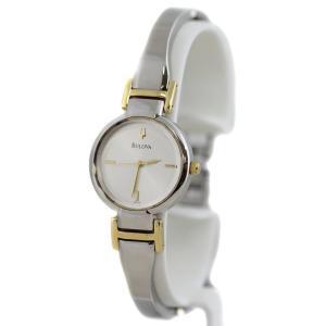 Bulova Women's 98L140 Stainless Steel and Silver Dial Bracelet Watch