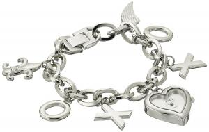 XOXO Women's XO7028 Silver-Tone Charm Watch