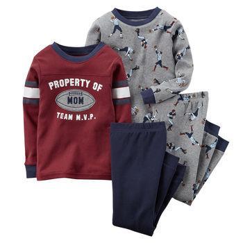Set bộ đồ cho bé 4-Piece Snug Fit Cotton PJs