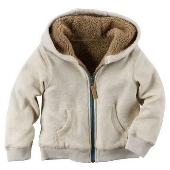 Áo khoác Sherpa-Lined Hoodie