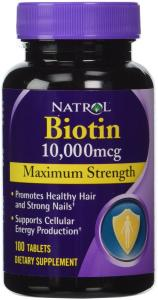 Biotin (10,000mcg) Maximum Strength (100ct Max-Strength x 2)