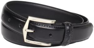 Dây lưng Stacy Adams Men's Big-Tall 30 mm Pinseal Leather with Pinhold Design On Keeper