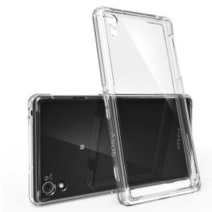 Rearth Case Bumper Crystal View for Sony Xperia Z2 with Premium HD Clear Screen Protector