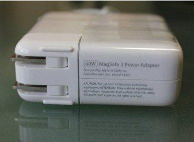 Apple Macbook Pro Air Retina MagSafe 2 60W AC Power Adapter A1435