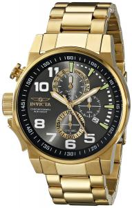 Invicta Men's 17416 I-Force Analog Display Japanese Quartz Gold Watch