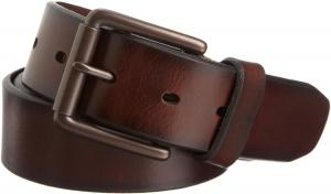 Dockers Men's 38mm Leather Bridle Belt Brown