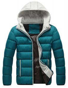 Lega Mens Warm Hoodie Hooded Coat Classic Winter Outwear Down Jacket