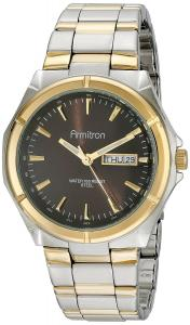 Armitron Men's 20/4686BNTT Brown Dial Two-Tone Bracelet Watch