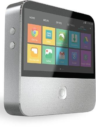 """ZTE SPRO2 Verizon Android Projector with 5"""" LCD Touch Display, Wifi, and Verizon 4G LTE Hot Spot and Cellular Connectivity"""