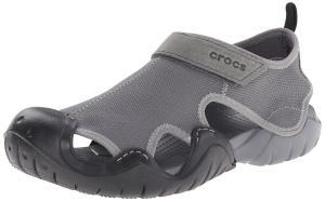 crocs Men's Swiftwater Canvas Sandal
