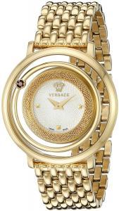 Versace Women's VQV080015 Venus Gold-Tone Stainless Steel Watch