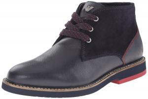 Armani Jeans Men's Saffiano Chukka Boot