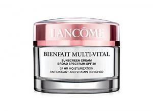 Lancôme Bienfait Multi-vital SPF 30 Cream 24-hour Moisturizing Cream Antioxidant and Vitamin Enriched Broad Spectrum SPF 30 Sunscreen - 1.7 Oz