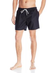 Lacoste Men's Taffeta Basic 6 Inch Swim Trunk