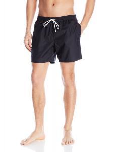 Lacoste Men's Taffeta Basic 6 Inch Swim Trunk