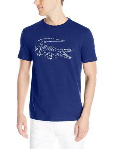 Lacoste Men's Short Sleeve Croc Graphic Regular Fit T-Shirt