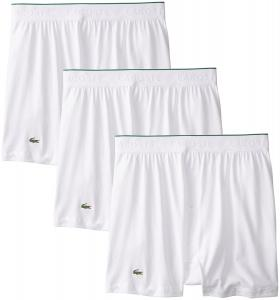 Lacoste Men's 3-Pack Essentials Cotton Knit Boxer