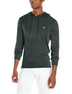 Lacoste Men's Long-Sleeve Jersey Hooded T-Shirt