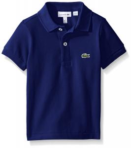 Lacoste Boys' Short Sleeve Classic Pique Polo Shirt
