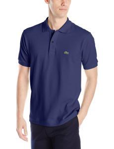 Lacoste Men's Short Sleeve Classic Pique L.12.12 Original Fit Polo Shirt