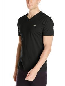 Lacoste Men's Short-Sleeve Jersey Pima V-Neck T-Shirt