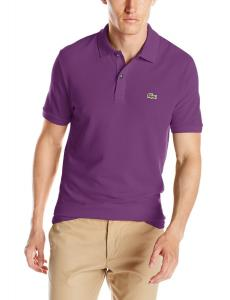 Lacoste Men's Classic Pique Slim-Fit Short-Sleeve Polo Shirt