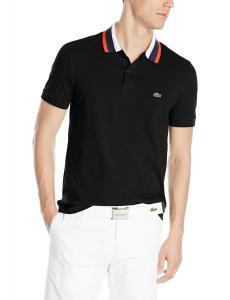 Lacoste Men's Short Sleeve Mini Pique Regular Fit Polo Shirt